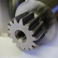 Manufactured spur gear